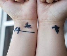 tatt,birds,nice,simple,hands,tatto-For some reason I am in love with this tattoo idea...