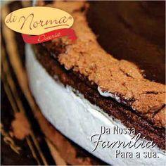 Torta Suíça Levíssima massa de cacau,recheio de chantilly e cobertura de chocolate meio amargo. #love #DiNorma #curta #siga e #compartilhe