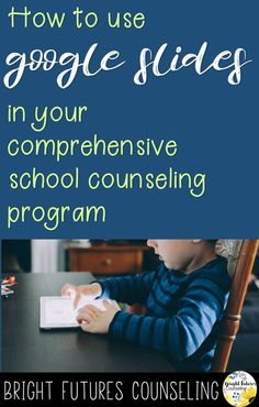 Create digital activities using Google Slides for your school counseling program.