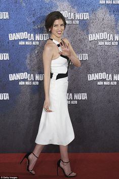 There's a reason she's Pitch Perfect...: Anna Kendrick was the epitome of grace, style and...