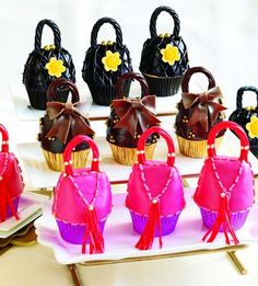 Cupcake purses.  Seriously.  How cute are these?