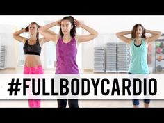 ADELGAZAR RÁPIDO | Rutina completa 45 minutos FULL BODY CARDIO - YouTube