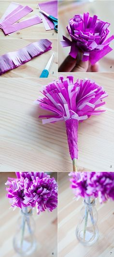 415 Meilleures Images Du Tableau Papier Crepon En 2019 Floral