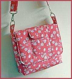 Válltáska varrása részletes leírással-----Sew a satchel with Susan Dunlop