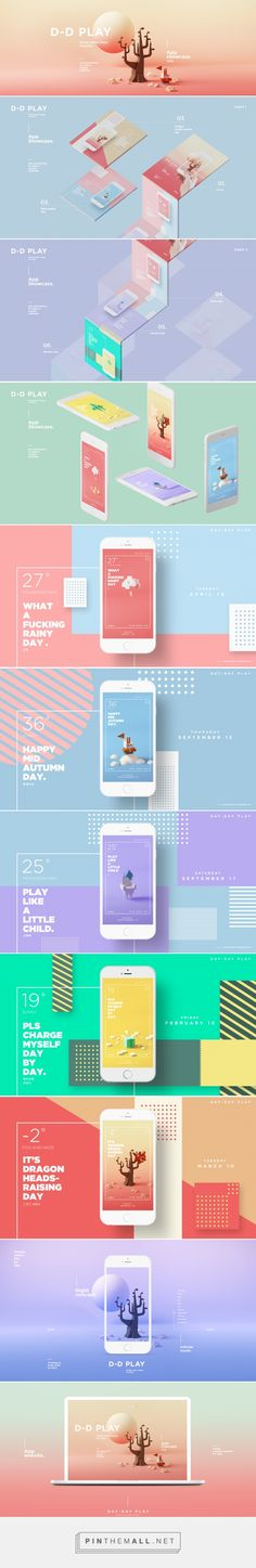 D-D Play on Behance... - a grouped images picture - Pin Them All