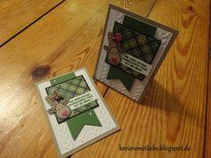 Weihnachtskarte # 2 | Ausgestochen weihnachtlich | Gemütliche Weihnachten | Tiefenprägeform: Zopfmuster ~ Kreiere mit Liebe - Stempeln, Stanzen, Prägen und Co.