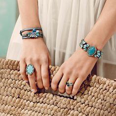 carolina herrera jewelry | or this beautiful Shoreside Beaded Stretch Bracelet