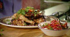 Portuguese Chicken: http://gustotv.com/recipes/lunch/portuguese-chicken-red-pepper-salad/