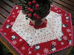 Free Sewing Pattern: Holiday Hexagon