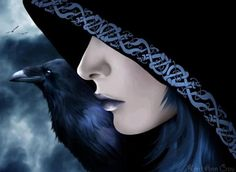 """The Morrigan is a goddess of battle, strife, and fertility. Her name translates as either """"Great Queen"""" or """"Phantom Queen,"""" and both epithets are entirely appropriate for her. -- have always used the name Morrigan in writings and such for as long as I can remember. Fitting for me."""