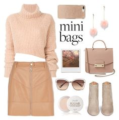 """Cute Mini Bags"" by pure-vnom ❤ liked on Polyvore featuring New York & Company, Ann Demeulemeester, River Island, Aquazzura, Furla, Chloé, Fresh, Impossible Project, Kate Spade and minibags"