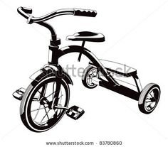 silhouette images vintage tricycle - Bing Images