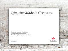 Igitt, eine MADE in Germany. #wendesatz