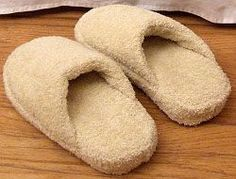 DIY Towel Slippers #diy