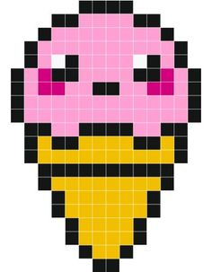MINECRAFT PIXEL ART – One of the most convenient methods to obtain your imaginative juices flowing in Minecraft is pixel art. Pixel art makes use of various blocks in Minecraft to develop pic… Melty Bead Patterns, Hama Beads Patterns, Beading Patterns, Bracelet Patterns, Easy Pixel Art, Pixel Art Grid, Perler Bead Art, Perler Beads, Hama Beads Kawaii
