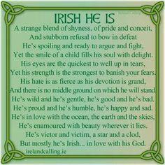 Irish HE Is