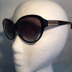 BRAND NEW AUTH DAVID YURMAN SUNGLASSES BRAND NEW WITH ORIGINAL CASE DAVID YURMAN SUNGLASSES.GOLD HARDWARE David Yurman Accessories Sunglasses