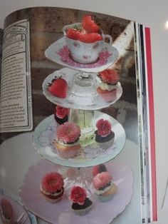 Cake Stands. Kat got the cream: Everything Alice - craft book review