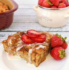 French Vanilla Bread Pudding Recipe