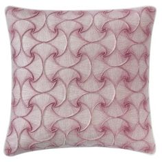 Our Deja Vu pillow features an all-over geometric pattern, hand-printed on wool felt. This throw pillow accents any style, and pairs perfectly with our bedding and rug designs. Burlap Throw Pillows, Floral Throw Pillows, Throw Pillow Sets, Outdoor Throw Pillows, Decorative Throw Pillows, Felt Pillow, Geometric Throws, Berry, Wool Felt