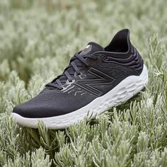 With a sleek upper and a new Fresh Foam X midsole, the Beacon v3 is a comfortable running shoe that offers plenty of soft cushioning while making picking up the pace feel easy. - Shop with Free Shipping and Free Returns at Running Warehouse! - #run #running #runner #motivation #habit #goals #training #workout #health #fitness #footwear #shoes #jog #walk #nike #newbalance #hoka #altra #brooks #adidas #marathon #athletic #exercise #style #fashion #outfit #clothes #gym #sneakers Footwear Shoes, Men's Shoes, New Balance Fresh Foam, Lightweight Running Shoes, Running Gear, Types Of Shoes, Jogging, Black Shoes, Style Fashion