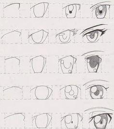 Técnica para desenhar olho de anime *-* ~ Draw ProjecT