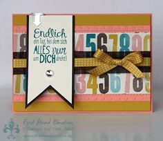 Stampin' UP! Verliebt in Soho Alles nur Sprüche by First Hand Emotion