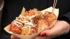Japanese Snacks, Japanese Food, Takoyaki, Oriental, Pickled Ginger, Osaka, Krispy Kreme, Tempura, Sashimi