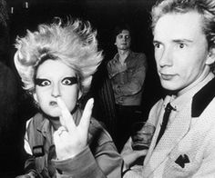 Pamela Rooke&Johnny Rotten