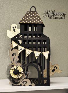 Silhouette Blog: Featured Artist Series :: A Little Hut :: Halloween Birdcage Project