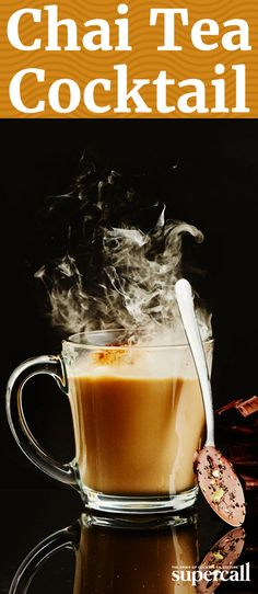 This cocktail is a spicy-sweet-creamy crossover between chai tea and hot cocoa. It gets an extra kick of heat from fiery Patrón XO Incendio (a tequila-based liqueur infused with Criollo chocolate and arbol chile), while chai tea gives it that wintery spice, and coconut milk makes it extra decadent.
