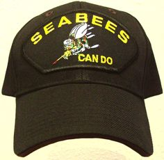 d3126134330be Details about PATCH U.S. NAVY USN NAVAL SEABEES CAN DO CONSTRUCTION  BATTALION CB TEAM CAP HAT