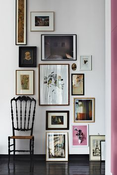 Brilliant Small-Space Ideas To Open Up Your Digs #refinery29  http://www.refinery29.com/dwell/7#slide2  For paint and furnishings, pick a variety of tones within a single colorway. If you choose red, use a mix of reds — some should be more yellow, others more blue, or more pink. Colors appear especially vibrant this way, and they won't clash.