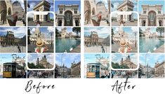 FREE TRAVEL - MOBILE PRESETS - La Dolce Vita Lightroom Effects, Lightroom Presets, Editing Pictures, Photo Editing, Free Travel, Iphone Photography, Travel Destinations, Beautiful Pictures, Photo Wall