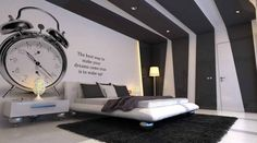 Gray And Black Bedroom Ideas