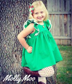 Molly moo Christmas dress
