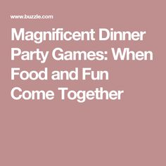 Games offer a good way to make a simple dinner party, more enjoyable and an event that each guest will remember. In this PartyJoys post, we will discuss some ideas on the same for you. Dinner Party Games For Adults, Dinner Games, Adult Party Games, Youth Bible Study, Murder Mystery Games, Progressive Dinner, Mystery Dinner, Taco Party, Birthday Dinners