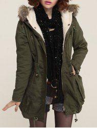 HONGZUO] 2016 Winter Elegant Faux Fur Coat Black Women Fluffy Warm ...