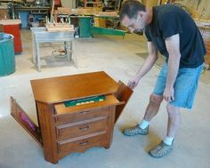 Gun Owners Are Drawn To Hunterdon Cabinet Maker's 'concealment Furniture'