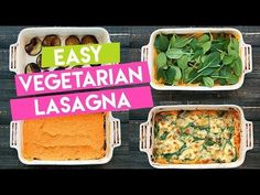 Sweet Potato Vegetarian Lasagna - Sweet potato mix, Eggplant, spinach topped with mozzarella and parmesan cheese. Easy, healthy and delicious! Sweet Potato Recipes, Veggie Recipes, New Recipes, Vegetarian Recipes, Cooking Recipes, Healthy Recipes, Easy Vegetarian Lasagna, Veggie Lasagna, Mozzarella