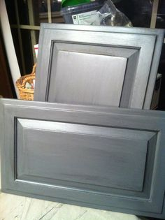 Kitchen ideas on pinterest cabinet transformations wood for Can you paint non wood kitchen cabinets