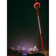Started from the bottom. #CNTower #Fog #Toronto