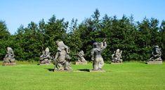 Ganesh (Vinayaka) in Ireland, @ Victoria's Way, in Roundwood, Co. Wicklow