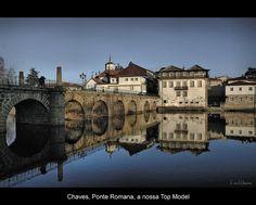 Ponte Romana - Chaves - Portugal by Fer.Ribeiro, via Flickr