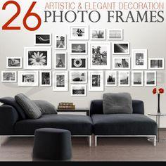 26 pcs Picture Photo Frame Set