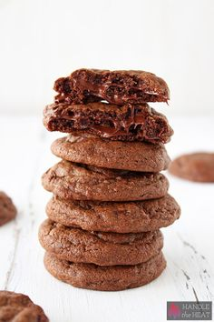 Sweet tooth? These ooey gooey Double Chocolate Cookies can be hot out of the oven in just 30 minutes!