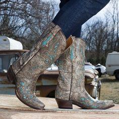 Woolrich Kiva Women's Western Heeled Ankle Boots, Size: medium ...