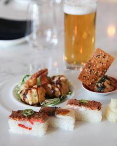 If you're heading to the @mapleleafs tonight join us at #MikuToronto for our Game Day Special. From 3 p.m.-7 p.m. Enjoy our Ebi Oshi Salmon Oshi Saba Oshi Ebi Fritter Feature Tartare and a beer for only $18! #aburi #aburirestaurants #sushi #torontomapleleafs #goleafsgo #toronto by aburirestaurants