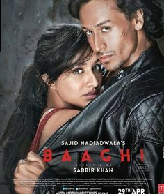 Baaghi Action Movie Trailer