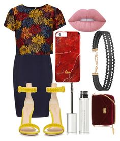 """5"" by jahirapage14 on Polyvore featuring Reiss, Alice + Olivia, Gianvito Rossi, Lime Crime, Humble Chic and Givenchy"